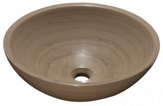 Aparici Basin Bowl Crema Moka mini